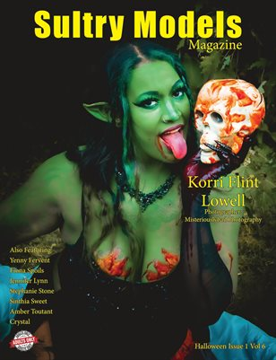 Sultry Models Magazine Halloween Issue 1 Vol 6