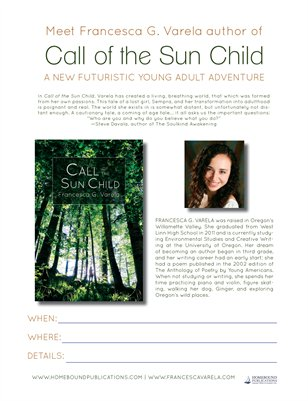 Call of the Sun Child | Event Poster