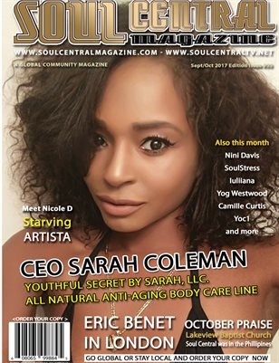 Soul Central Magazine Edition 55 #Ceo #Sarah Coleman