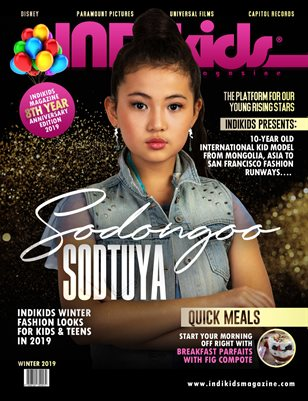 INDIKIDS WINTER 2019 ISSUE SODONGOO COVER