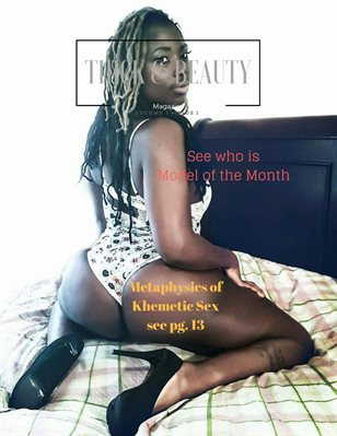 Thick & Beauty Magazine volume 1 Issue 1