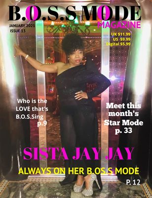 B.O.S.S MODE Magazine January Edition 2021