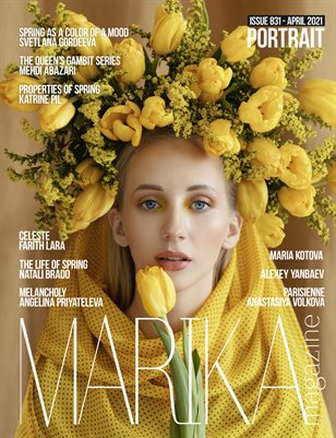 MARIKA MAGAZINE PORTRAIT (ISSUE 831 - APRIL)