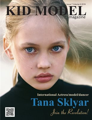 Kid Model magazine Issue 7 Volume 6 2018