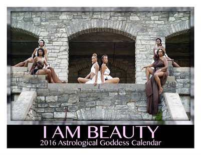 I Am Beauty Goddess Calendar & Planner