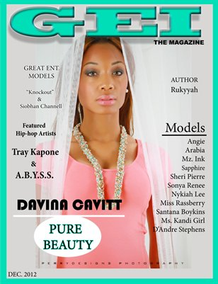December 2012 Pure Beauty Issue