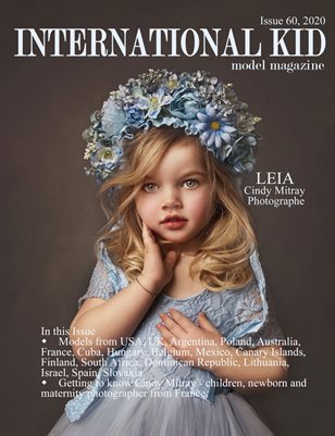 International Kid Model Magazine Issue #60