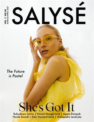 SALYSÉ Magazine | APRIL 2021 | VOL 7 NO 38