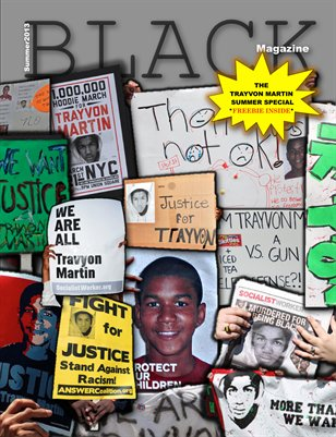 Black Magazine (Trayvon Martin Summer Special Issue)