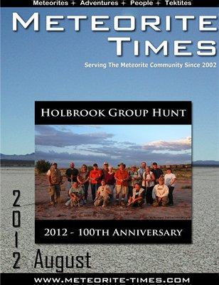 Meteorite Times Magazine - August 2012