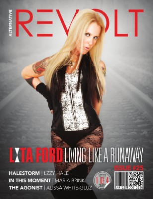 Alt Revolt Mag Issue 25.1 (Lita Ford) Limited Edition [1 of 4 covers]