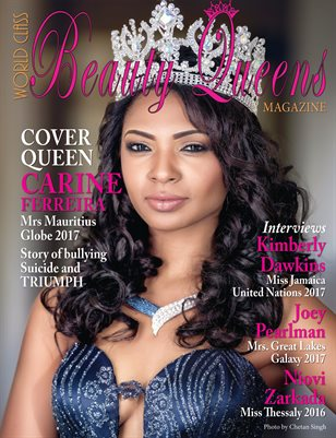World Class Beauty Queens Magazine with Carine Ferreira