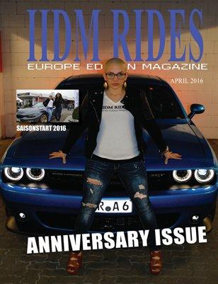IIDM RIDES Europe April 2016