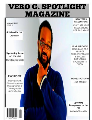 Vero G. Spotlight Magazine January issue