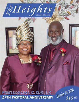 Volume 8 Issue 3 - 27th Pastoral Anniversary Pentecostal C.O.G.I.C.
