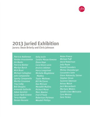 2013 Juried Exhibition