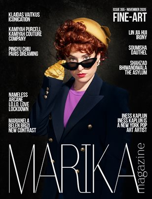 MARIKA MAGAZINE FINE-ART (NOVEMBER - ISSUE 355)