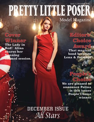 Pretty Little Poser Model Magazine - Issue 11, All Stars - December