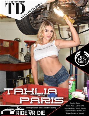 The Definition: Tahlia Paris In the Repair Shop Ride or Die vol 4 Cover 1