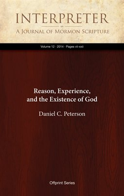 Reason, Experience, and the Existence of God