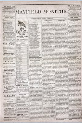 (Pages 1-2) Mayfield Monitor, MARCH 08,1879