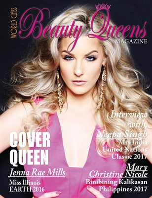 World Class Beauty Queens Magazine with Jenna Rae Mills