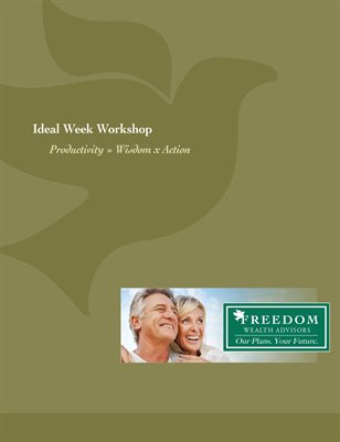 Freedom Wealth Ideal Week Workshop