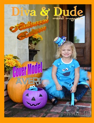 Issue 18 Diva & Dude Model Magazine Halloween/Fall