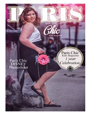 Paris Chic kids magazine March 12