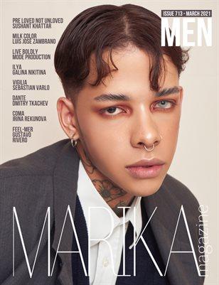 MARIKA MAGAZINE MEN (ISSUE 713 - MARCH)