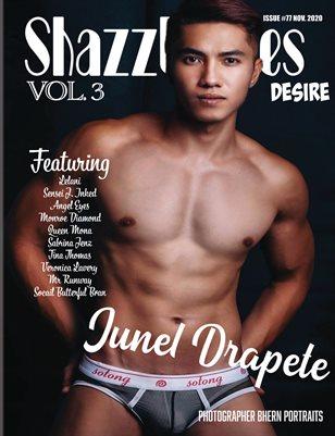 Shazzles Desire Issue #77 VOL. 3 Cover Model Junel Drapete