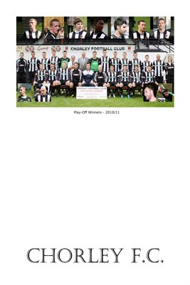Chorley FC - Play-off Winners - 2010/11