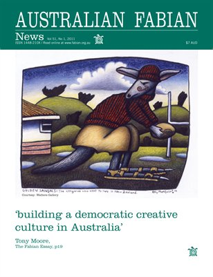 Australian Fabian News Vol 51 No 1 2011