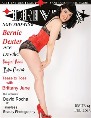 Drive In Magazine Issue 14 FEB 2013