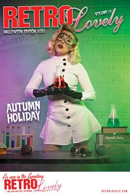 Autumn Holiday Halloween Cover Poster
