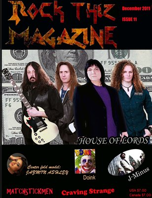 Rock Thiz Magazine Issue #11 Dec 2011