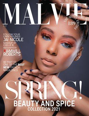 MALVIE Magazine The Artist Edition Vol 189 April 2021