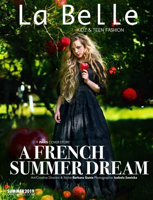 La Belle Kidz & Teen Fashion Magazine - Summer 2019 (Paris Cover)