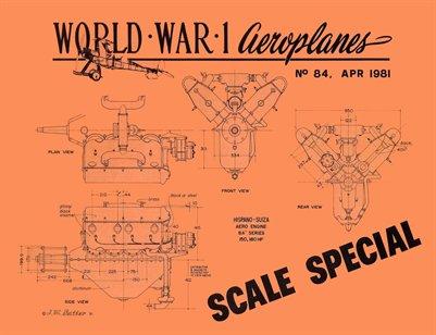 WW1 Aero #84 - April 1981