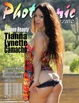 photogenic Magazine with Tianna