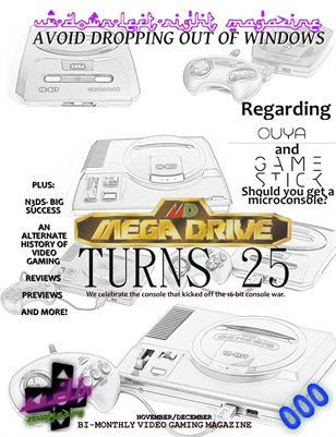 UDLR No. 0 -- The Mega Drive Turns 25