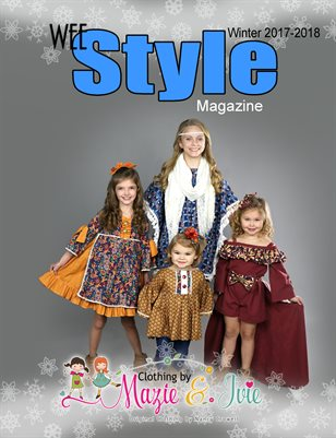 Wee Style Magazine Winter 2017-2018 issue