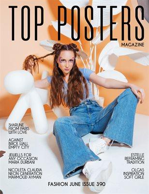 TOP POSTERS MAGAZINE- FASHION APRIL (Vol 390)