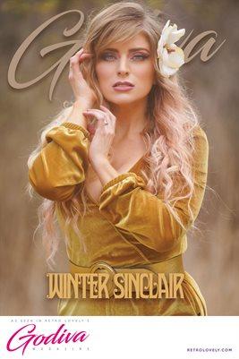 GODIVA No.27 – Winter Sinclair Cover Poster