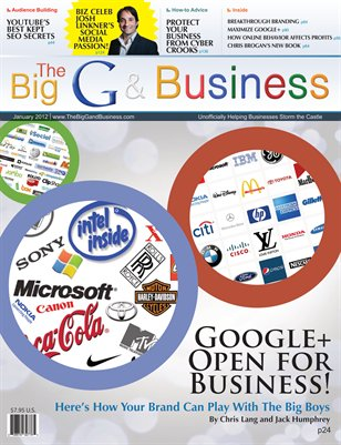 The Big G & Business magazine - Jan 2012