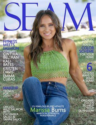 SEAM Magazine Issue #7 - Spring 2021 - Cover: Marissa Burns
