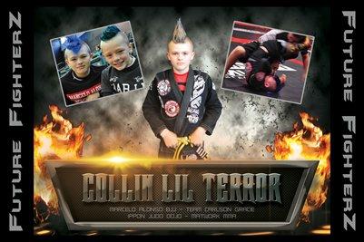 Collin Lil Terror Poster 2015