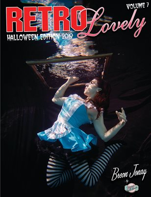 Retro Lovely Halloween 2019 Volume No.7 – Breon Jenay Cover