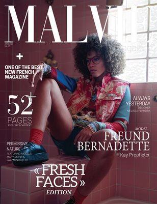 MALVIE Mag | Fresh Faces | Vol. 17 JUNE 2020