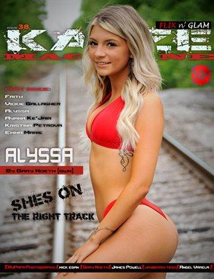 Kayze Magazine Issue 38 - ALYSSA - Flix n; Glam